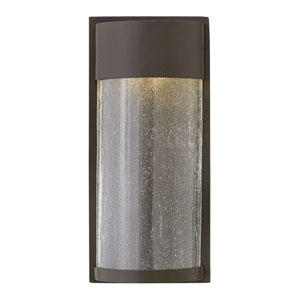 Shelter Buckeye Bronze 12-Inch One-Light LED Outdoor Wall Mount