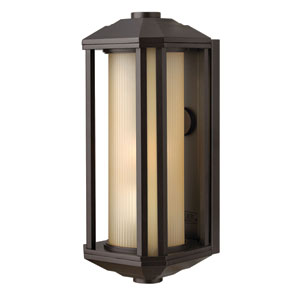 Castelle Bronze 15-Inch One-Light LED Outdoor Wall Sconce