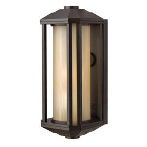 Castelle Bronze One-Light Small Fluorescent Outdoor Wall Light