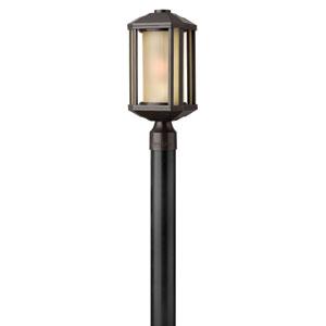 Castelle Bronze One-Light Outdoor Post Light