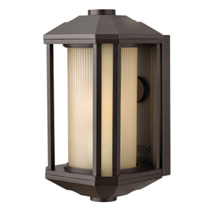 Castelle Bronze 13.5-Inch One-Light LED Outdoor Wall Sconce
