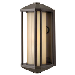 Castelle Bronze One-Light Large Outdoor Wall Light