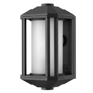 Castelle Black One-Light Mini Outdoor Wall Light