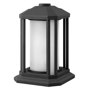 Castelle Black 13-Inch One-Light LED Outdoor Wall Sconce