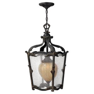 Sorrento Aged Iron Outdoor Hanging Pendant