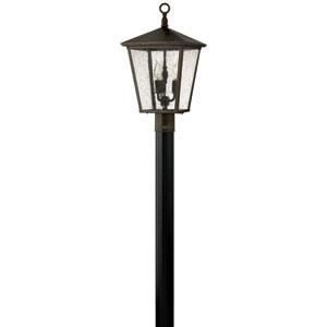 Trellis Regency Bronze Three-Light Outdoor Post Light