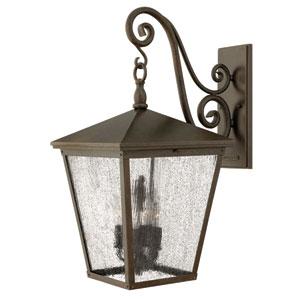 Trellis Regency Bronze Four-Light Outdoor Wall Light