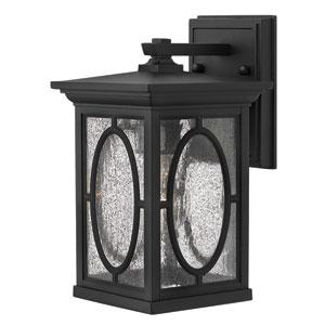 Randolph Black One-Light Outdoor Wall Light