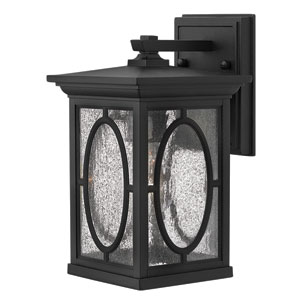 Randolph Black 11-Inch One-Light Outdoor Wall Light