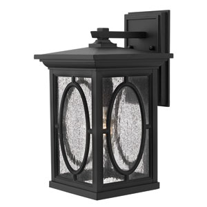 Randolph Black 14-Inch One-Light Outdoor Wall Light