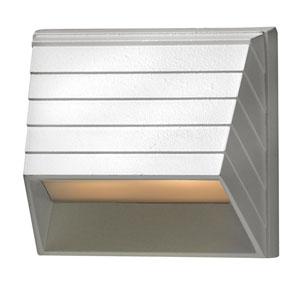 Matte White LED Landscape Deck Light