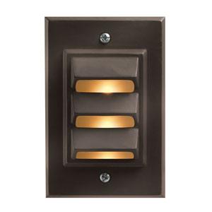 Bronze 3.5-Inch LED Landscape Deck Light