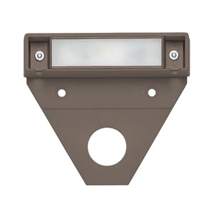 Nuvi Bronze Three-Inch LED Landscape Deck Light Set of 10