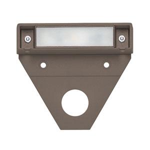 Nuvi Bronze Three-Inch LED Landscape Deck Light Set of 10