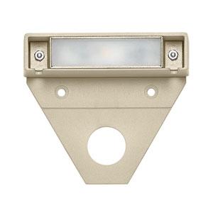 Nuvi Sandstone Three-Inch LED Landscape Deck Light Set of 10