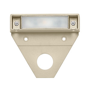 Nuvi Sandstone Three-Inch LED Landscape Deck Light