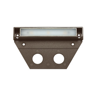 Nuvi Bronze Five-Inch LED Landscape Deck Light