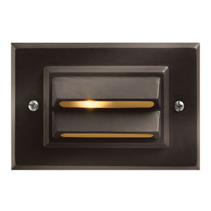 Bronze 5-Inch LED Landscape Deck Light