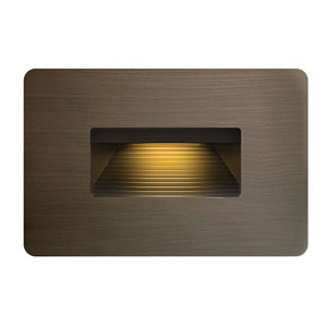 Luna Matte Bronze LED Landscape Deck Light