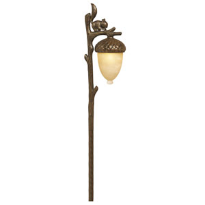 Squirrel Regency Bronze Landscape Path Light
