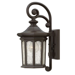 Raley Oil Rubbed Bronze One-Light Outdoor Wall Sconce