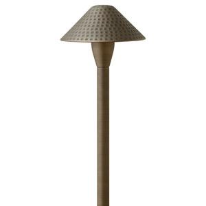 Hardy Island Matte Bronze 15.5-Inch LED Landscape Path Light