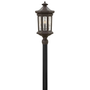 Raley Oil Rubbed Bronze Four-Light Outdoor Post Mount