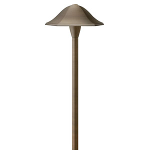 Hardy Island Matte Bronze 23.5-Inch LED Landscape Path Light