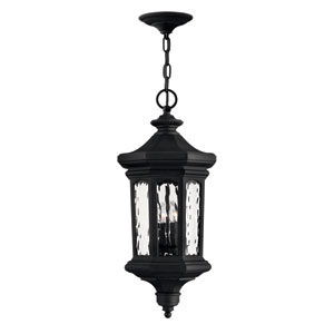 Raley Museum Black Outdoor Hanging Pendant