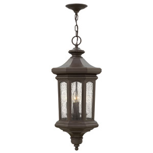 Raley Oil Rubbed Bronze Four-Light Outdoor Pendant