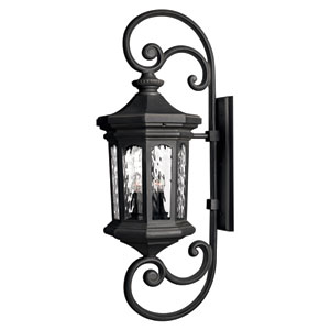 Raley Extra-Large Museum Black Outdoor Wall Mount