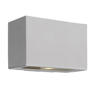 Atlantis Titanium Small Pocket Up/Down One-Light Outdoor Wall Light