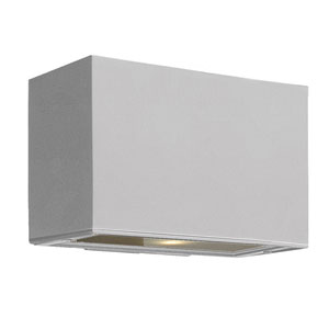 Atlantis Titanium Small Pocket Up/Down Two-Light LED Outdoor Wall Light