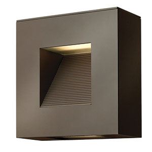 Luna Bronze Two-Light LED Outdoor Wall Sconce