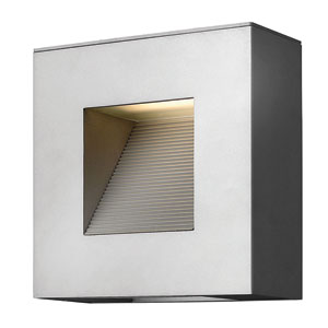 Luna Titanium Two-Light LED Outdoor Wall Sconce