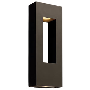 Atlantis Bronze Two-Light Outdoor Wall Mount