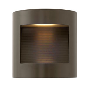 Luna Bronze 9-Inch LED Outdoor Small Wall Mount