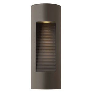 Luna Bronze Two-Light Small LED Outdoor Wall Light