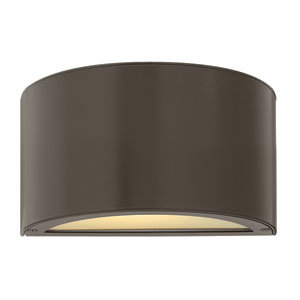 Luna Bronze 2700K LED Outdoor Wall Mount