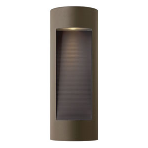 Luna Bronze Two-Light Large LED Outdoor Wall Light