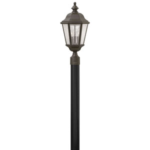 Edgewater Oil Rubbed Bronze Three-Light Outdoor Post Mount