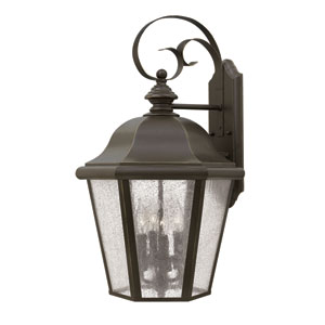 Edgewater Oil Rubbed Bronze Four-Light Outdoor Wall Sconce