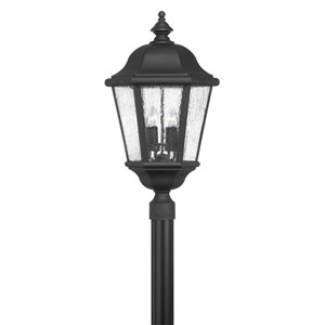 Edgewater Black 15-Inch Four-Light Outdoor Extra Large Post Mount