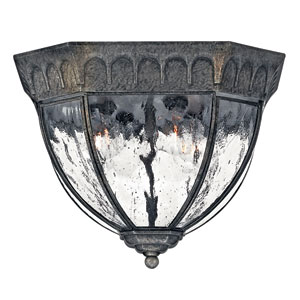Regal Large Flush Mount Outdoor Ceiling Light