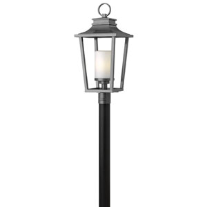 Sullivan Hematite Post Outdoor Light Fixture