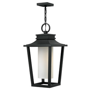 Sullivan Black One-Light LED Outdoor Pendant
