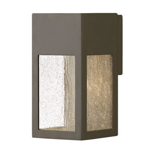 Rook Bronze One-Light Outdoor Small Wall Mount