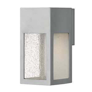 Rook Titanium One-Light Outdoor Small Wall Mount