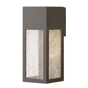 Rook Bronze One-Light Outdoor Medium Wall Mount