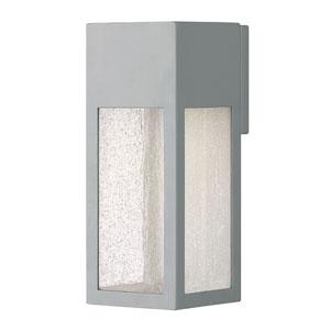 Rook Titanium One-Light Outdoor Medium Wall Mount